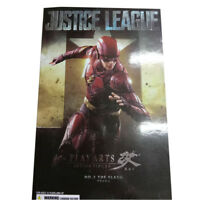 2018 Justice League Play Arts Kai No 2 The Flash Action Figures Statue Model Toy