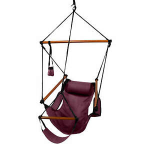 Hammaka Hammocks Original Hanging Air Chair In Burgundy