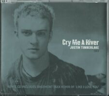 JUSTIN TIMBERLAKE - CRY ME A RIVER / LIKE I LOVE YOU(REMIXES) 2002 EU CD2 SINGLE