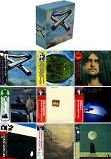 "Mike Oldfield ""Tubular Bells"" JAPAN MINI LP 10 CD (9 titles) BOX"
