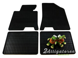 4 x Gummi-Fußmatten ☔ für HYUNDAI i40 seitdem 2012