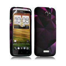 Housse coque étui gel pour HTC One X motif LM03 + Film protecteur