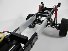 Custom Aluminum 3 inch Frame extension for Tamiya RC 1/10 Ford F350 Hilift Truck