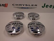 07-17 Chrysler Dodge Jeep Ram New Wheel Center Caps Set of 4 Mopar Factory OEM
