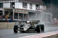 Elio de Angelis Lotus 93T belga Grand Prix 1983 fotografía
