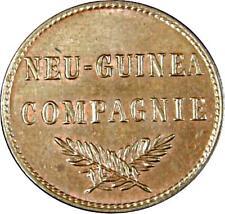 2242) j.701 alemán Nueva Guinea penique 1894 a-Wilhelm II. 1888-1918