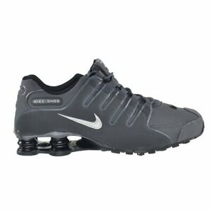Nike Shox NZ Running Shoes Dark Grey Metallic Iron Ore 378341-059 Men's NEW