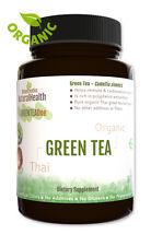 Green Tea 90 Capsules - Organic & pure. Immune and Cardiovascular Health 500 mgs