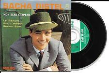 CD CARTONNE CARDSLEEVE 4 TITRES SACHA DISTEL MON BEAU CHAPEAU RÉÉDITION EP 1960