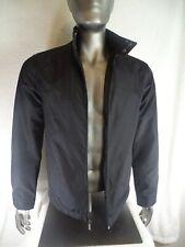 Stylish Attention mens windbreaker jacket S Black 100% Polyester