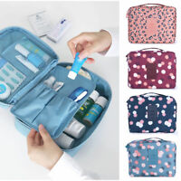 Travel Cosmetic Makeup Toiletry Case Bag Wash Beauty Purse Storage Pouch Handbag