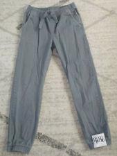 ( XL / 14-16 ) Boys Tony Hawk Skateboard Pants Tapered Elastic Drawstrings Gray