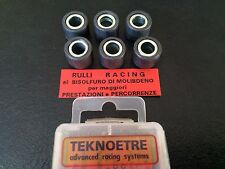 "GALETS TEKNO-RACING 5,3Grs ""16x13mm"" SCOOTERS PIAGGIO PEUGEOT GILERA VESPA APRIL"