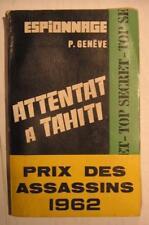 Attentat à Tahiti de P. Genève