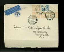 1935 Batavia Netherlands Indies Rubber Industry Cover