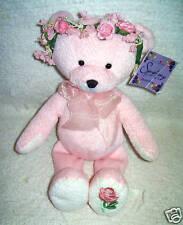 Symphony Flower Bear ROSE Bean Bag Stuffed Animal Papel Giftware