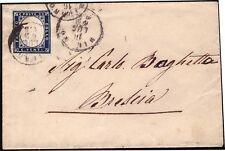 REGNO D'ITALIA 1862 - 20 c. n. 2a MILANO x BRESCIA € 200
