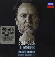 RICCARDO/GOL CHAILLY - DIE SINFONIEN 1-9 (GA) LUDWIG VAN BEETHOVEN 5 CD NEU
