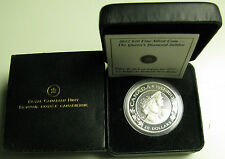 2012 Proof $20 Queen Elizabeth Prince Philip Dual Effigy .9999 silver jubilee