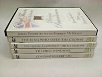 England Royal DVD Lot of 5 - King & Queen, Royal Recipes, Windsors