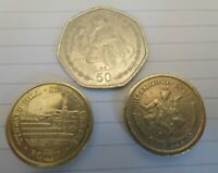 Vintage Isle of man coin set of 3