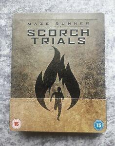 Maze Runner The Scorch Trials Blu Ray Steelbook