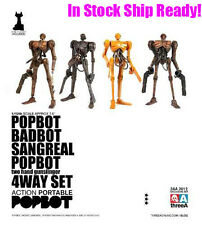 3A 3AA Ashley Wood Action Portable WWRp Popbot 4Way Set comes Kitty 1/12 Figure