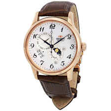 Orient Classic Automatic White Dial Men's Watch RA-AK0001S10B