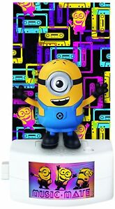 Despicable Me Music-Mate Minion Carl Toy Figure With Voice & Music - BRAND NEW