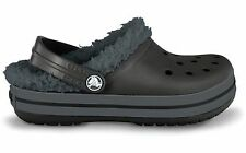 Crocband Mammoth Black/Graphite Lined Crocs Little Boys  Size  8/9