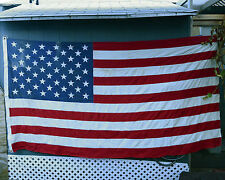 Us Flag 50 Star Size 5 5'x9.5' Valley Forge Cotton Bunting