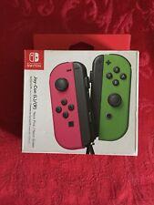 Nintendo Switch Joy-Con Neon Pink/Neon Green Controller Brand New
