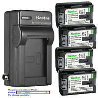 Kastar Battery Wall Charger for JVC BN-VG114 & JVC Everio GZ-HM30 Everio GZ-HM33