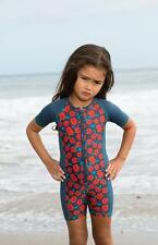 Little Marc Jacobs Maysie One Piece Zip Front Scuba Swimsuit 2 6 or 8