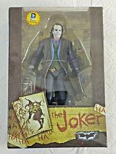 "NECA HEATH LEDGER JOKER BATMAN DARK KNIGHT  MOVIE COLLECTION 7"" FIGURE"