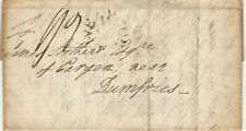 Great Britain 1796 Stampless Cover with 3 page Letter From Liverpool to Dumfries
