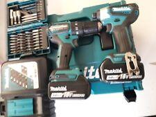MAKITA Werkzeugset »DLX2221JX2«, 18 V, 3 Ah, inkl. Ladegerät und 2 Akkus