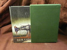 """Edge of Dark Water Joe R Lansdale """"SIGNED, LIMITED, SLIPCASED"""" PS Publication"""