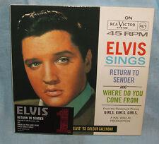 Elvis Presley Return To Sender - limited edition numbered CD single