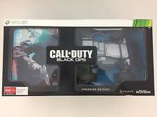 CALL OF DUTY BLACK OPS PRESTIGE COLLECTOR'S EDITION XBOX 360 GAME *SEALED*