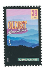 Scott #4045...39 Cent...Wonders of America...Oldest Mountains...3 Stamps