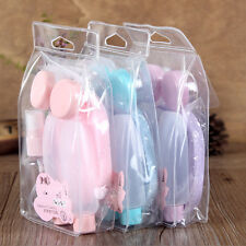 7Pcs Travel Mini Plastic Transparent Empty Cosmetic Makeup Container Bottle HOT!
