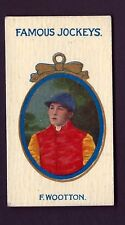 TADDY - FAMOUS JOCKEYS (NO FRAME) - F WOOTTON