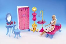 NEW Fancy Life DOLLHOUSE FURNITURE Dressing Room PLAYSET (2909)