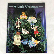 New ListingA Little Christmas Book by Donna Farley Folk Art Decorative Tole Painting