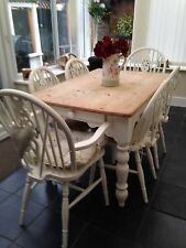 Pine Kitchen & Dining Tables with Drawers
