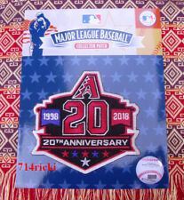 Official MLB 2018 Arizona Diamondbacks 20th Anniversary Collectible Patch