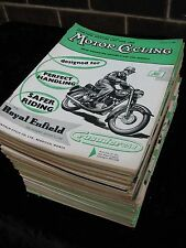 Motor Cycling  Magazine 1958. Full Year every Issue. Job Lot. Collection.
