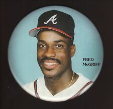 Fred McGriff--Atlanta Braves--1993 Large Six Inch Pin