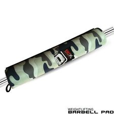 Barbell Pad Gel Supports Weight Lifting Pull Up Gripper Squat Olympic Camo DBX
